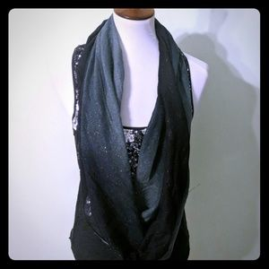 Night sky circle scarf